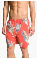 Tommy Bahama Leaful Weapon Swim Trunks