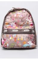 Lesportsac The Disney X Lesportsac Mini Basic Backpack in Moroccan Sun
