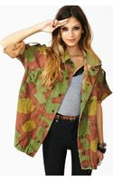 Nasty Gal Up in Army Camo Jacket