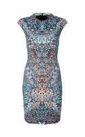 McQ by Alexander McQueen Kaleidoscope Print Dress