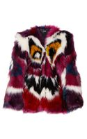 Meadham Kirchhoff Perri Monster Faux Fur Coat - Lyst