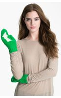 Kate Spade Big Apple Arrow Mittens