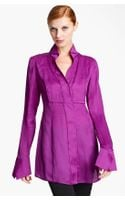 Donna Karan New York Collection Organza Shirt