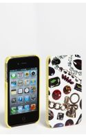 Juicy Couture White Gem Print Iphone 4 4s Case - Lyst