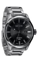 Nixon The Automatic Ii Bracelet Watch - Lyst