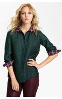 Gibson Mixed Print Shirt - Lyst