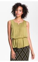 Halogen Pleated Blouse