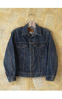 Free People Vintage Levis Distressed Denim Jacket - Lyst
