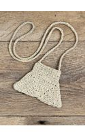 Free People Vintage Woven Pouch Necklace