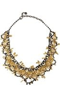 Tom Binns Love Of God Goldplated Swarovski Crystal Necklace