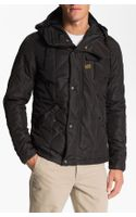 G-star Raw Quilted Overshirt Jacket - Lyst