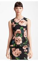 Dolce & Gabbana Stretch Cady Peplum Top