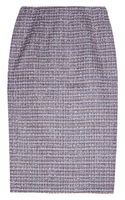 Jil Sander Tweed Pencil Skirt - Lyst