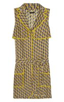 Rag & Bone Nimue Printed Silk Dress - Lyst