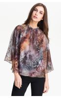 Ted Baker Print Top - Lyst
