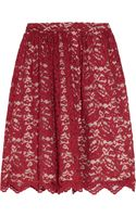 Erdem Madeleine Lace and Silk Skirt - Lyst