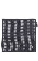Dolce & Gabbana Polkadot Silk Georgette Pocket Square