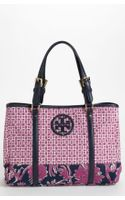 Tory Burch Ella Mini Print Tote