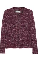 Etoile Isabel Marant Ariana Knitted Cotton Blend Jacket