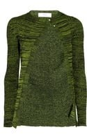 Pringle of Scotland Stretch Woolblend Cardigan - Lyst
