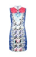 Peter Pilotto Printed Collar Dress