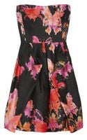 See By Chloé Printed Silkshantung Dress