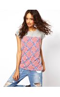ASOS Collection Asos Tshirt with Geo Block Print