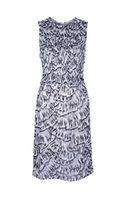 Bottega Veneta Sleeveless Printed Dress - Lyst