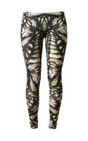 McQ by Alexander McQueen Dragonfly Printed Stretch Leggings - Lyst