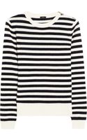 Joseph Sailor Striped Cashmere Sweater - Lyst