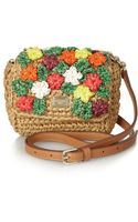 Dolce & Gabbana Kate Raffia Shoulder Bag - Lyst