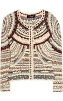 Isabel Marant Weston Crochet Knit Jacket - Lyst