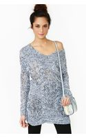Nasty Gal Haven Knit Blue