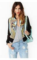Nasty Gal Break The Chains Bomber Jacket - Lyst