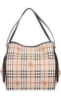 Burberry Checked Shoulder Bag - Lyst
