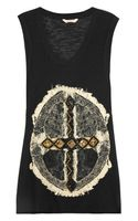 Sass & Bide The Status Embellished Cotton Tank - Lyst