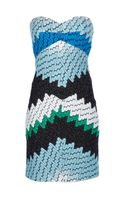 Missoni Strapless Dress - Lyst