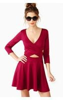 Nasty Gal Crossed Out Skater Dress  - Lyst