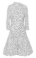 Oscar de la Renta Printed Silk-faille Dress - Lyst