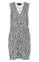 Thakoon Addition Carbon Copy Printed Jersey Dress