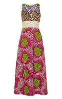 Moschino Cheap & Chic Printed Cotton Maxi Dress