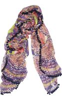 Matthew Williamson Modal and Cashmereblend Bobble Scarf
