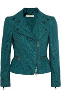 Burberry Cottonblend Lace Jacket - Lyst