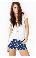 Nasty Gal All Star Cutoff Shorts