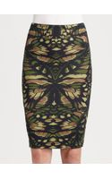 McQ by Alexander McQueen Jersey Pencil Skirt - Lyst