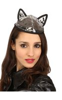 Maison Michel Bibi Yoko Pvc Cat Ear Hat