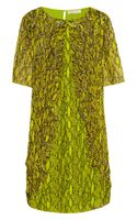 Matthew Williamson Embellished Printed Silk Chiffon Dress