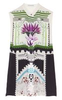 Mary Katrantzou Aria Printed Silk-georgette Blouse