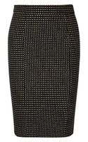 RED Valentino Tweed Pencil Skirt