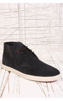 Clae Strayhorn Suede Shoes in Black